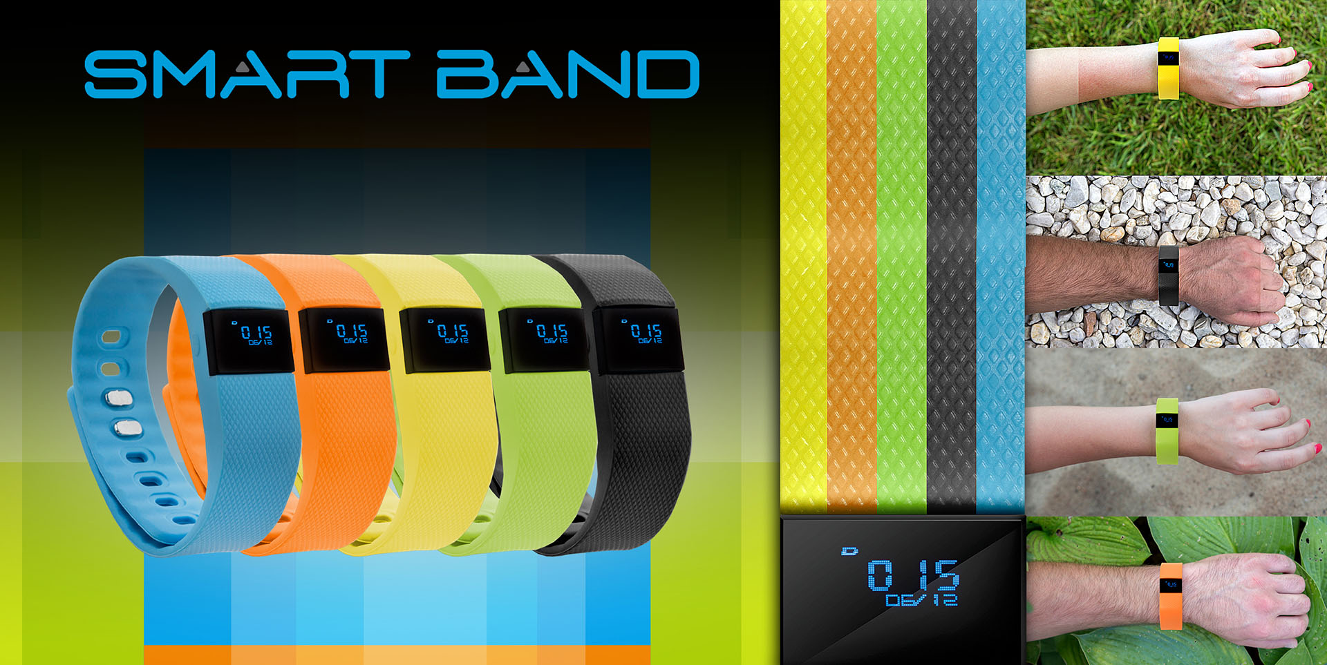 Step by Step - Smart Band GoClever