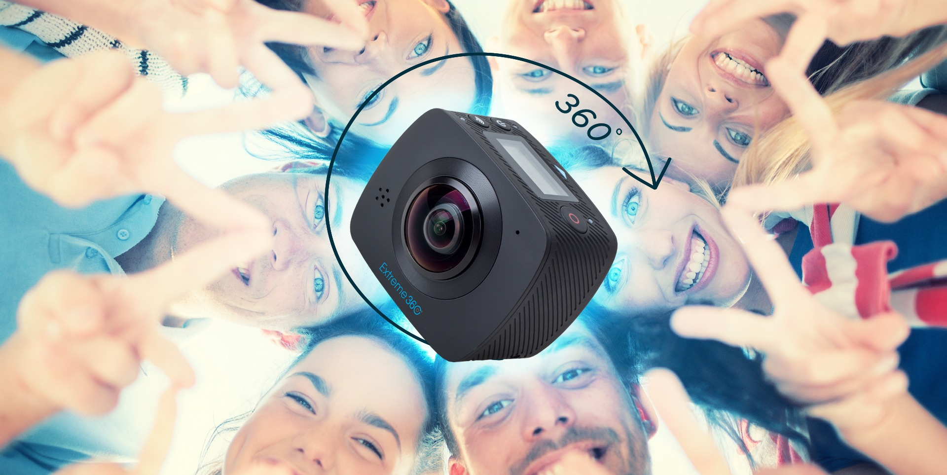 camere extreme 360 goclever