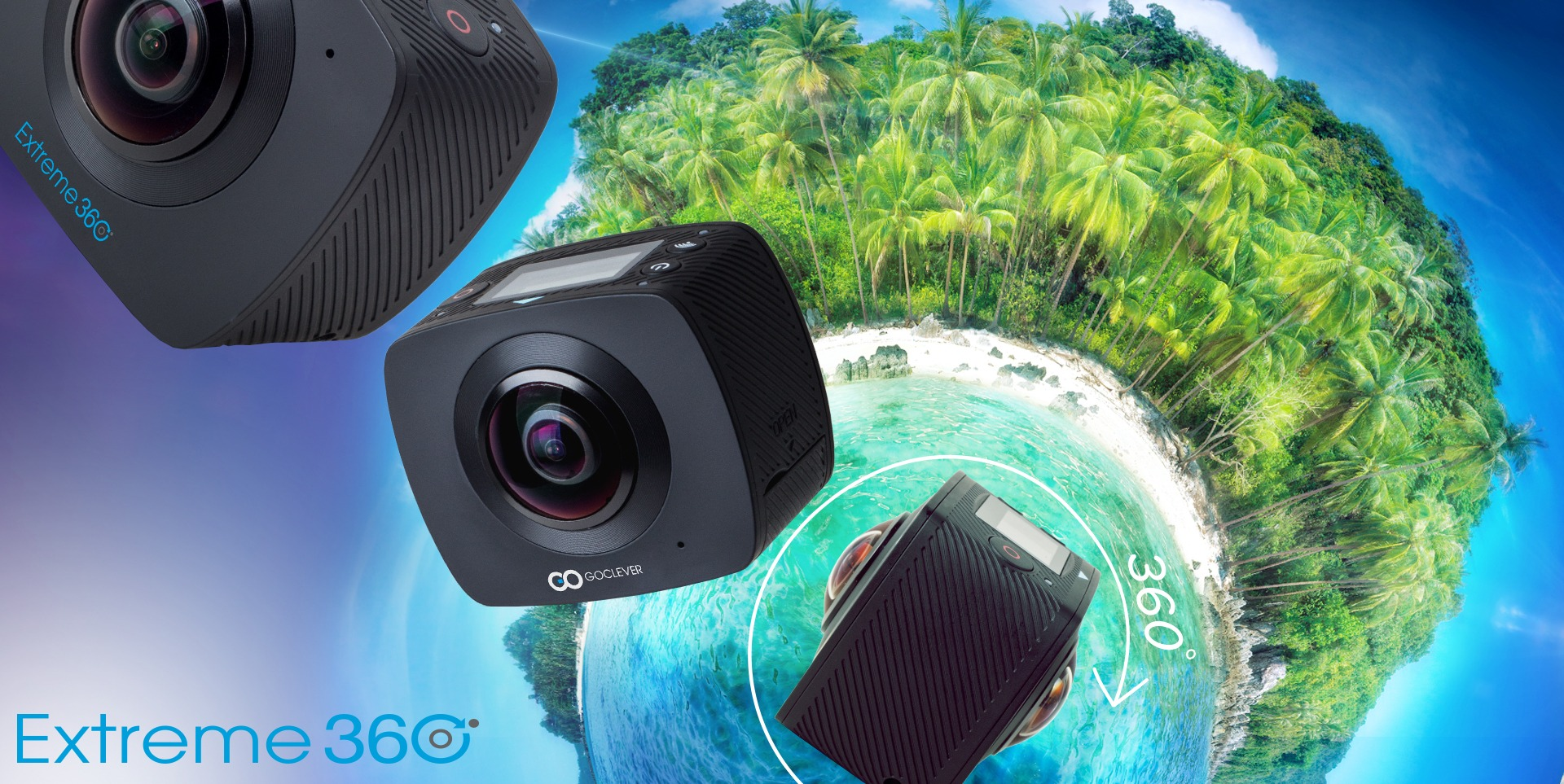 goclever camera extreme 360